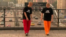 Танец C-Walk. Основа. Движение X-hop смотреть на Tvigle.ru
