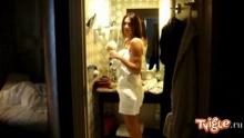 Алена Водонаева из Парижа с любимым