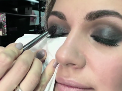 Макияж «Smoky eyes»
