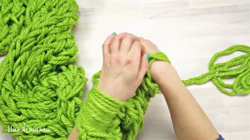 Способы вязания шарфов 67