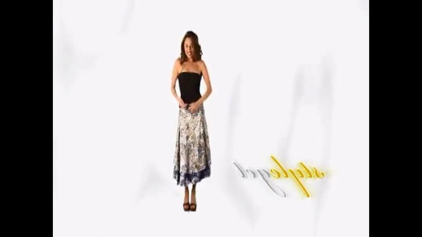 юбка трансформер выкройка видео:
