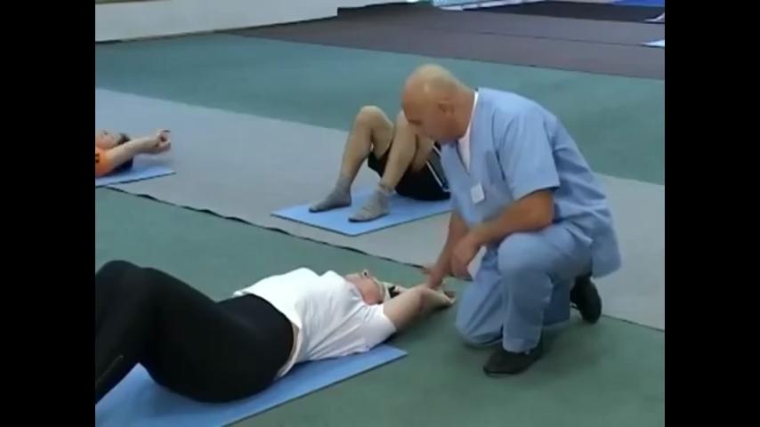 суставная гимнастика для спины видео
