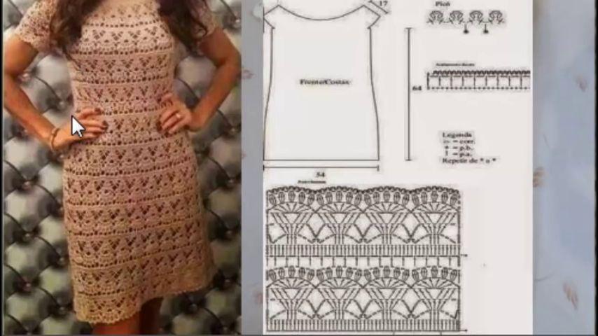 Платье элизабет крючком