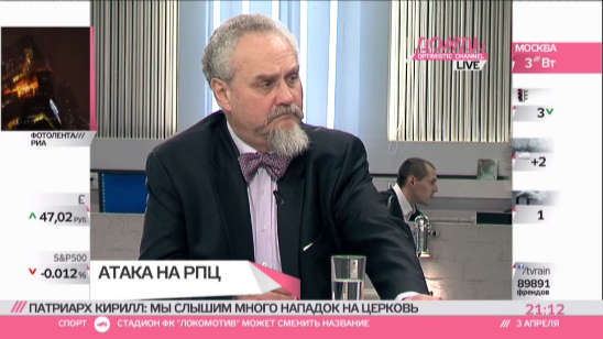 Историк Андрей Зубов: РПЦ добилась того, что образованная молодежь не идет в храмы