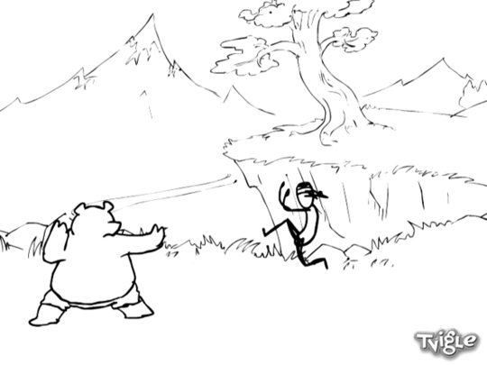 Кунг-фу Медведь  против У-лю-лю Кенга смотреть на Tvigle.ru