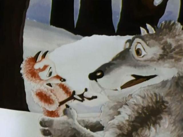 Волк и семеро козлят волк и телёнок