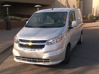chevrolet city express work van preview