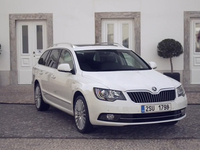 SKODA Superb Combi Laurin & Klement Preview