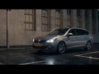 The new Peugeot 308 Station Wagon Trailer
