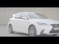 The new Lexus CT Hybrid Driving Video