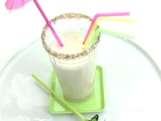 рецепт коктейля в молочном кокосе